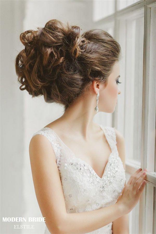 26 Chic Timeless Wedding Hairstyles from Elstile | www.deerpearlflow...
