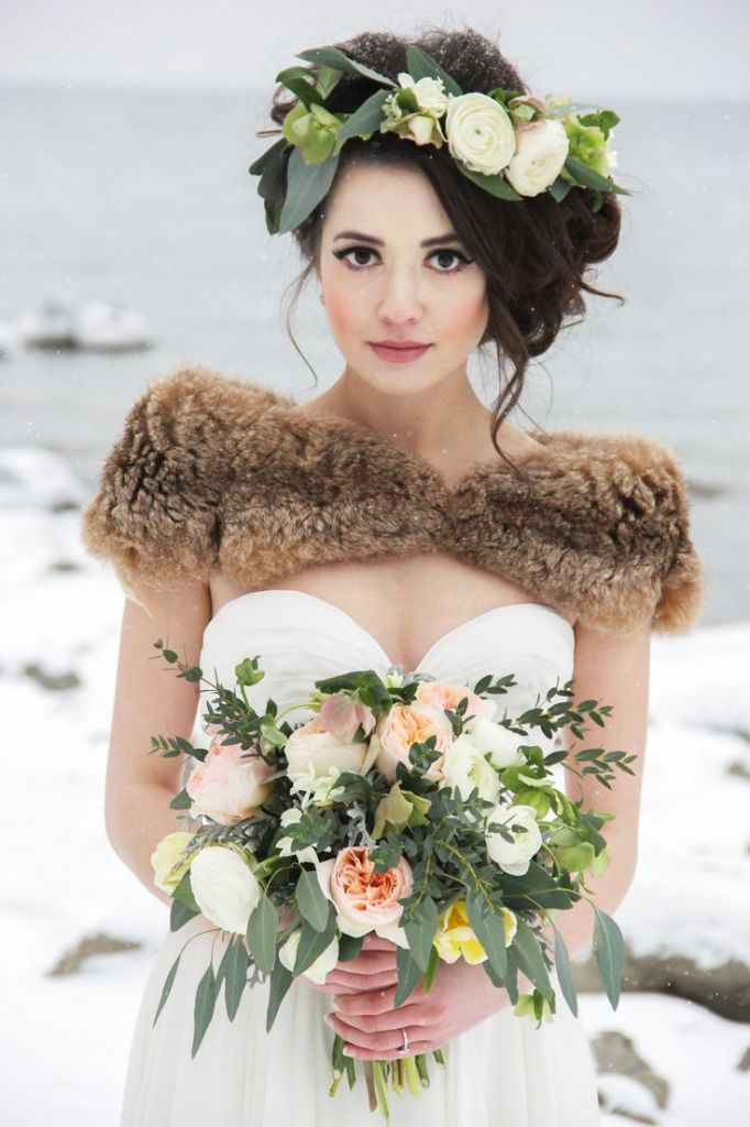 Bridal Hairstyles 46 Romantic Wedding Hairstyles With Flower Crown