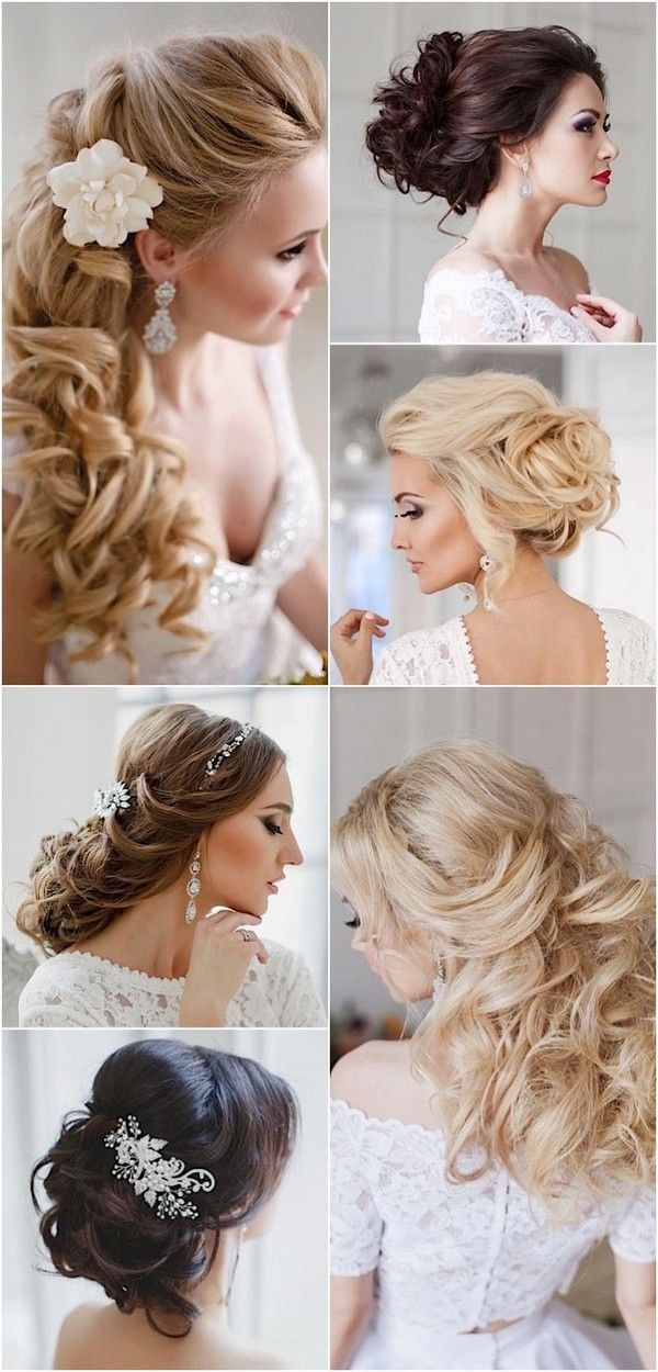 Long Wedding Hairstyles with Charming Elegance / www.himisspuff.co...