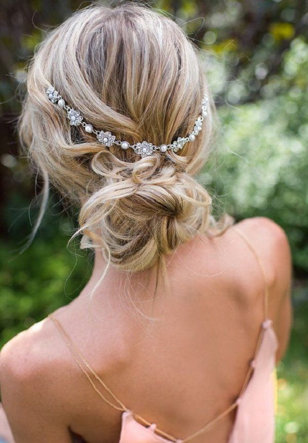 Bridal Hairstyles Vintage And Boho Inspired Wedding Hairstyle