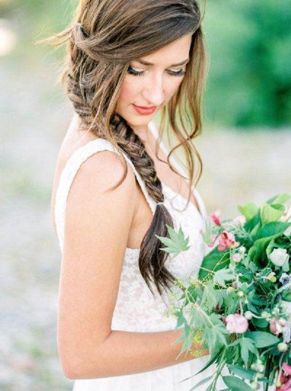 braid wedding hairstyles for long hair / www.deerpearlflow...