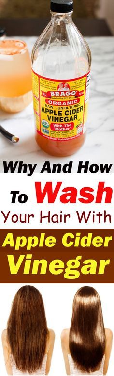 For beautiful and healthy hair use Apple Cider Vinegar. It also helps in dandruf...