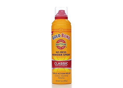 Gold Bond No Mess Powder Spray Classic Scent With Menthol ** You can get additio...