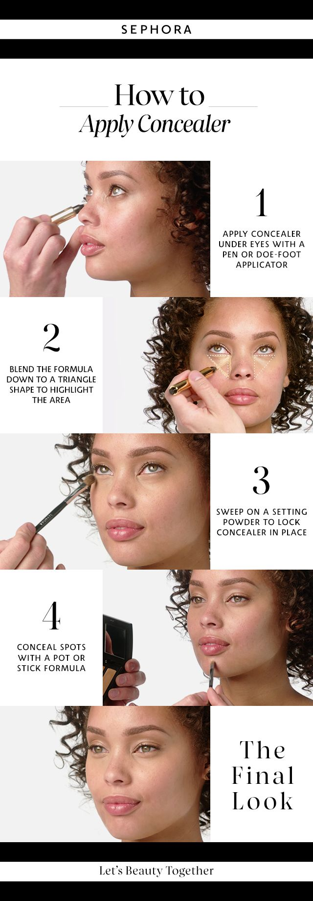 Learn how to apply concealer. Want more details? Click the image to watch a full...
