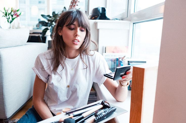 Makeup Artist Violette on the consummate French girl beauty routine before going...