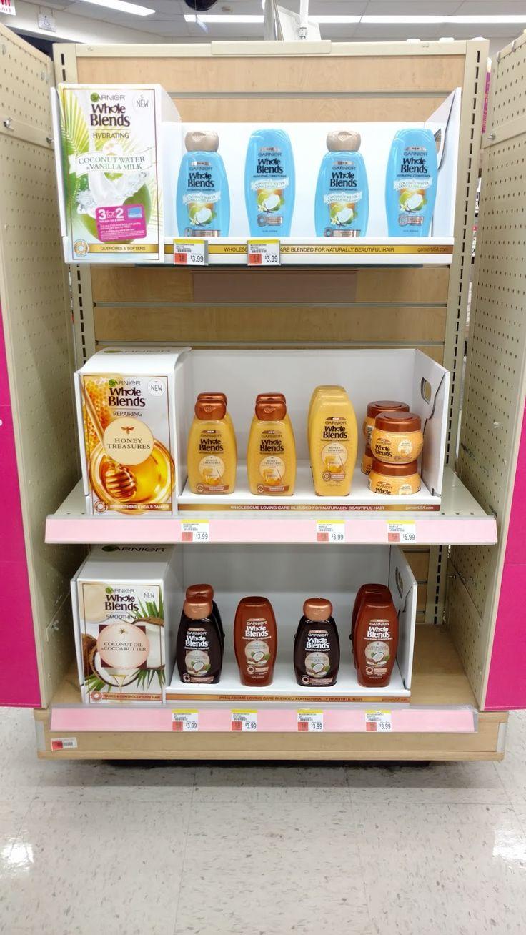 New Garnier Whole Blends Haircare at Walgreens