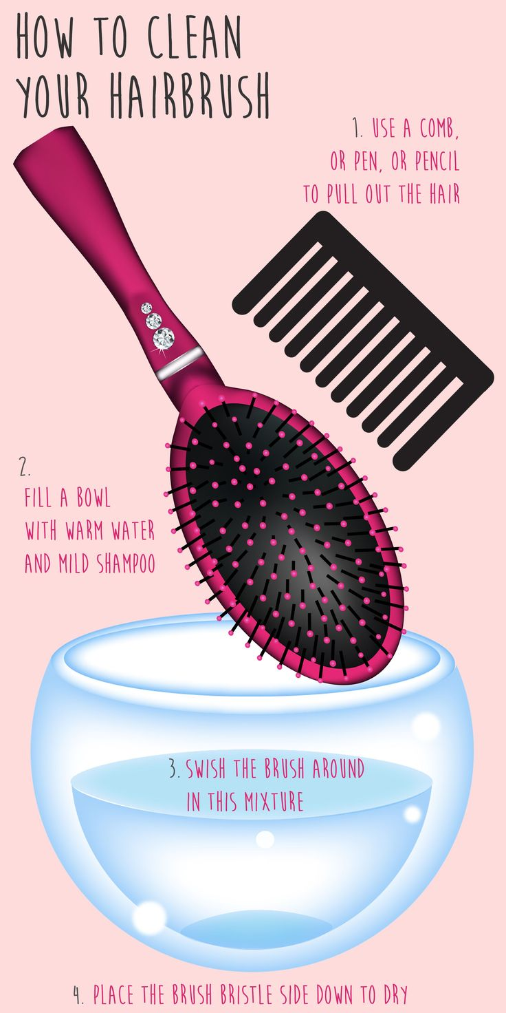 When it comes cleaning hair brushes, there's something we can all probably admit...