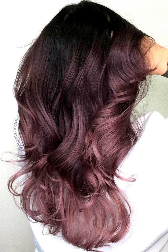 Chocolate Lilac Hair Ideas is the Delicious New Color Trend ★ See more: loveha...