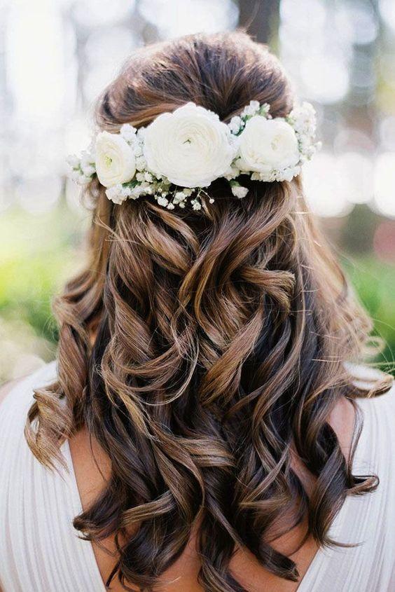 Bridal Hairstyles Half Up Half Down Wedding Hairstyles Weddings