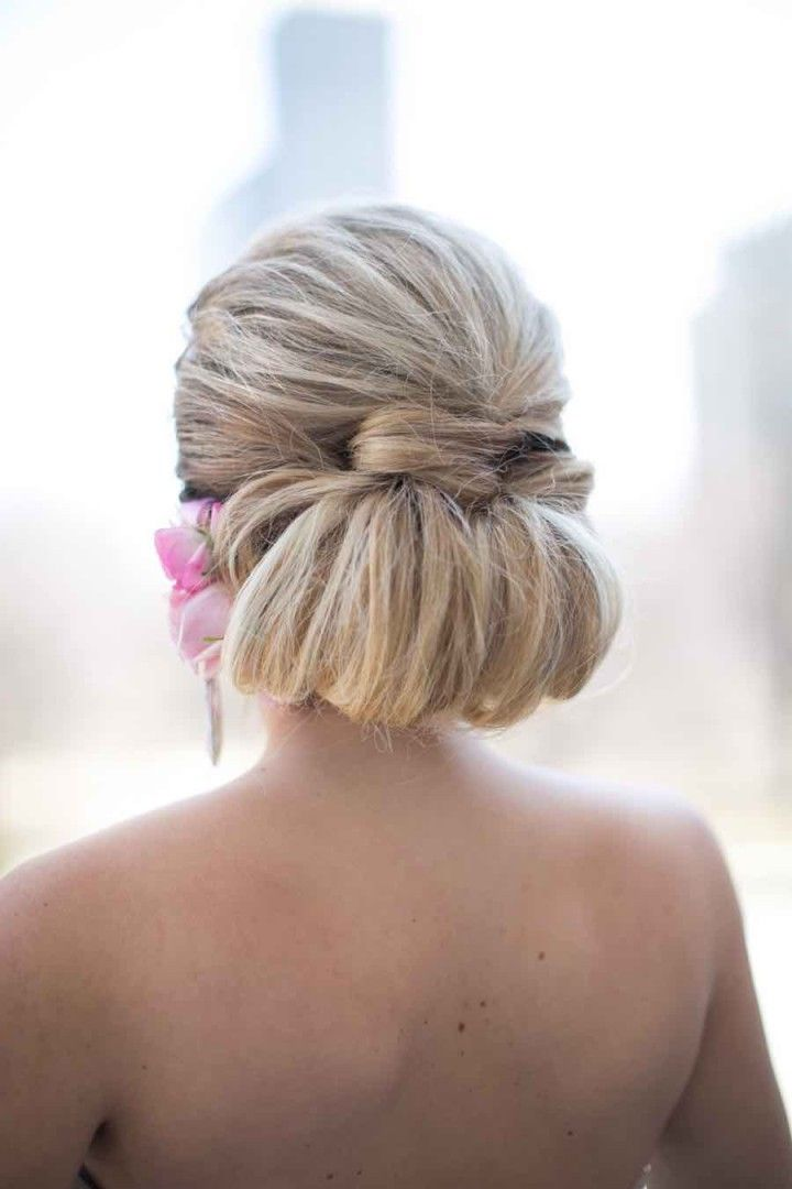 wedding hairstyle idea; photo: Cristina G Photography