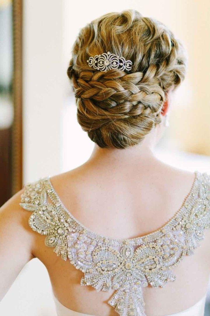 wedding hairstyle idea; photo: Joel Bedford