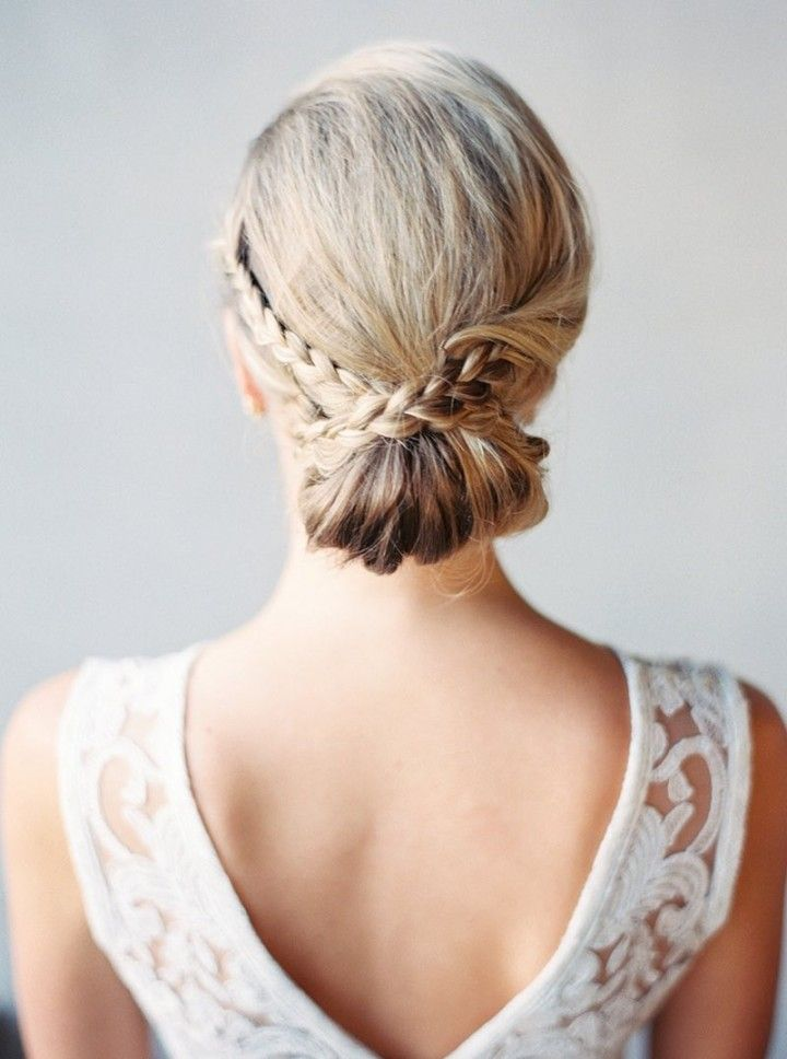 wedding hairstyle; photo: Melissa Jill