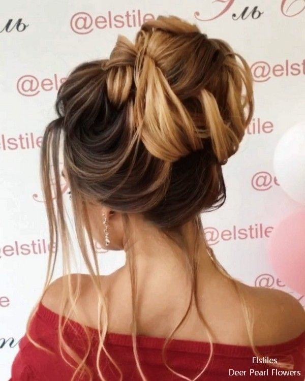 Elstile Long Wedding Hairstyles and Updos #weddinghairstyles #bridalhairstyles #...