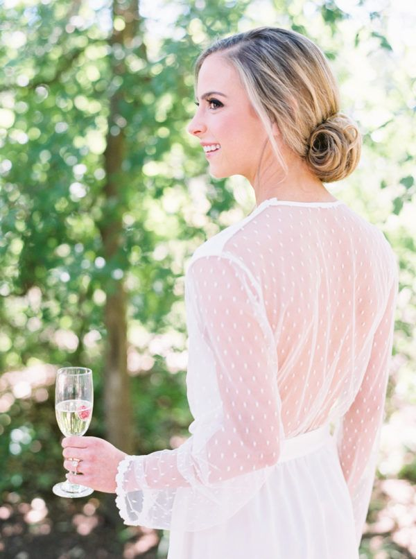 Featured Photographer: Jenna McElroy Photography; Wedding hairstyles ideas.