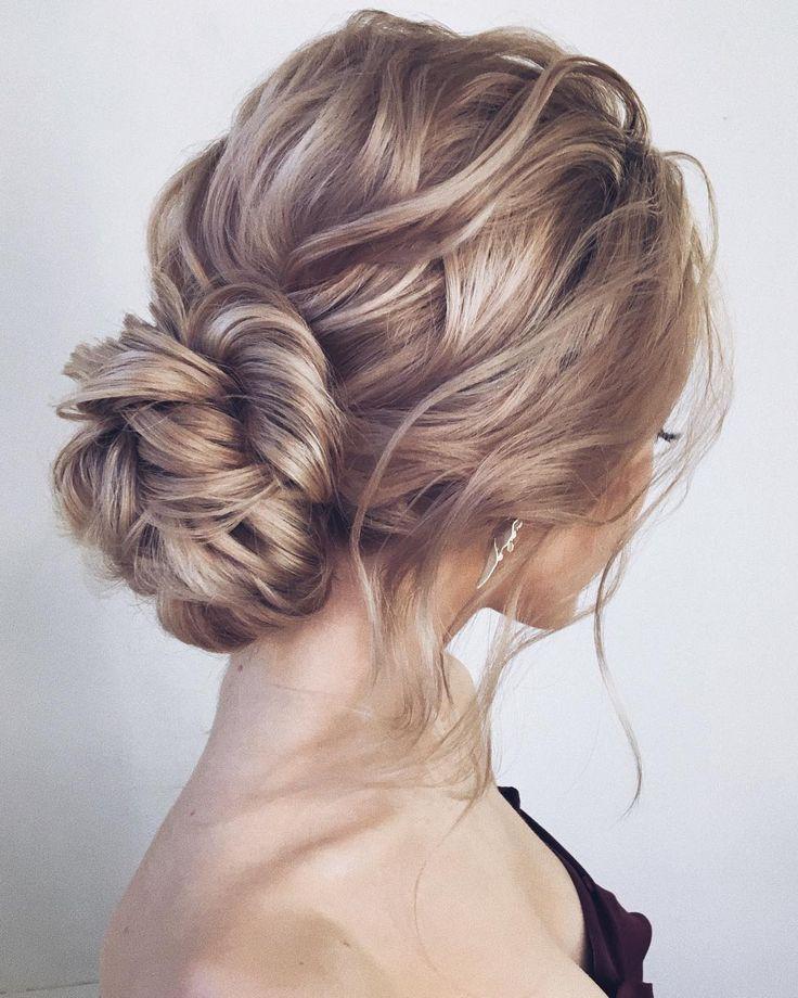 Long Wedding hairstyles and updos from lenabogucharskaya #weddings #hairstyles #...