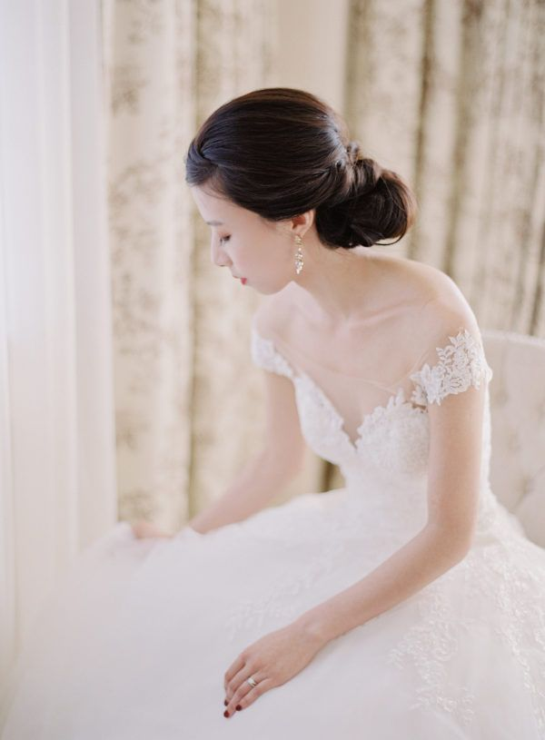 Featured Photographer: Michael + Carina Photography; Wedding hairstyles ideas.