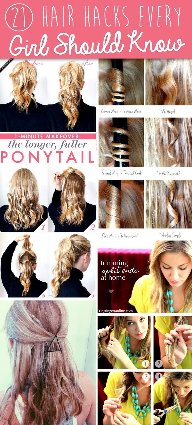 You NEED TO check out these 10 Easy Hair Care Tips and Hacks! I've already tried...