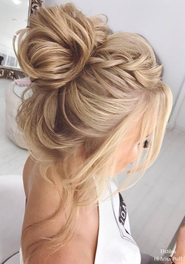 Elstile Long Wedding Hairstyles and Updos #wedding #weddinghairstyles #weddingid...
