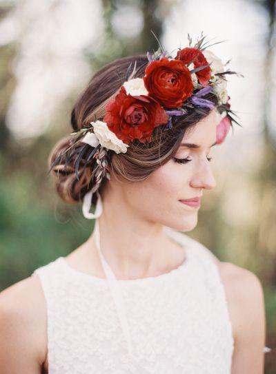 Bohemian wedding style: www.stylemepretty...