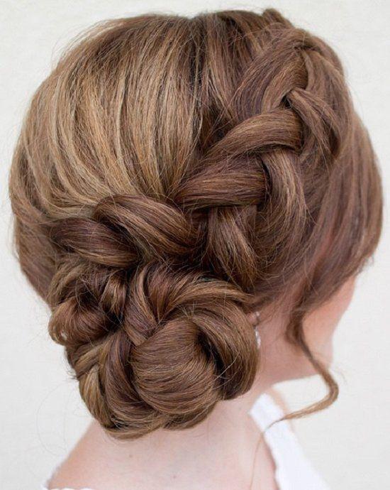 Chignon Bun Hairstyles for wedding 11