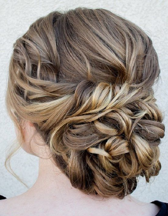 Chignon Bun Hairstyles for wedding 8