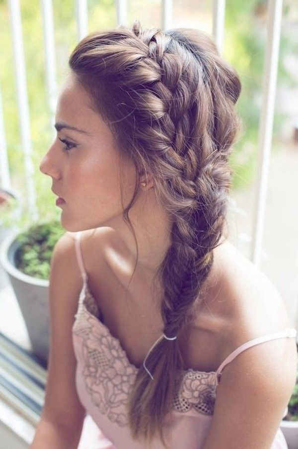 braid bridesmaid hairstyles