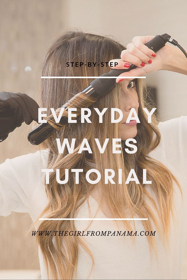 Hair Tutorials Easy Step By Step Everyday Waves Tutorial Beauty