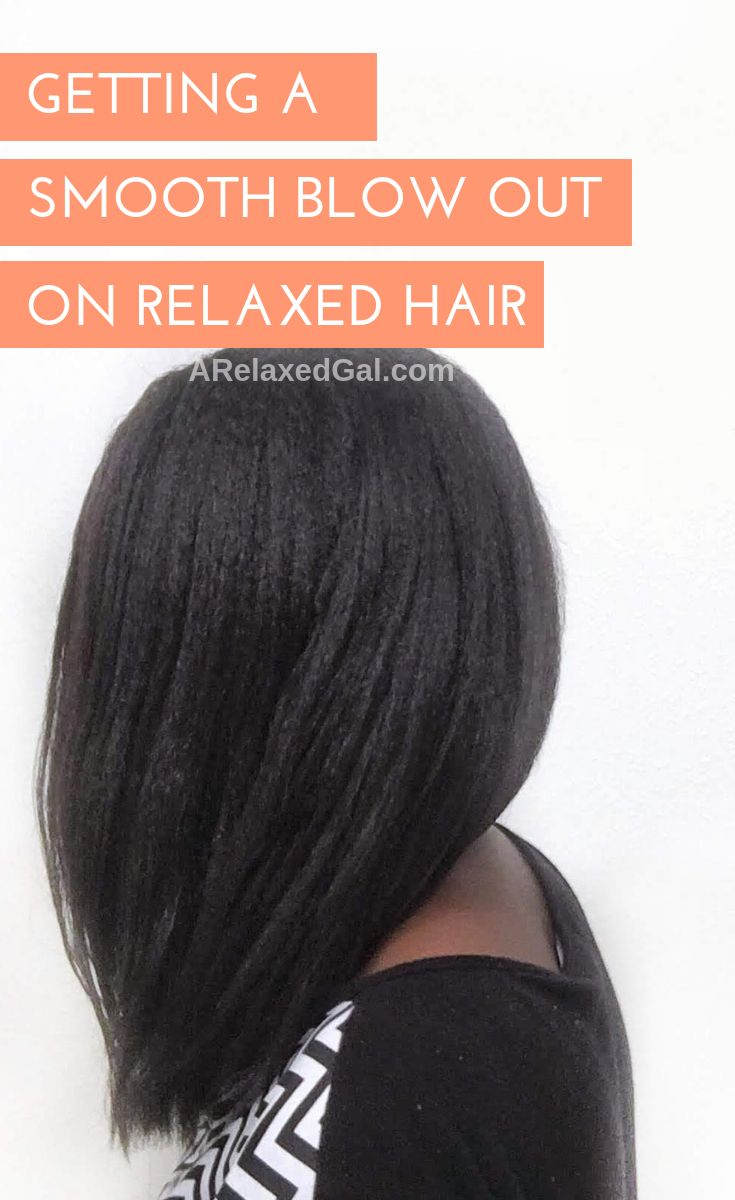 I'm sharing my tips and products for blow drying hair get a smooth look with...