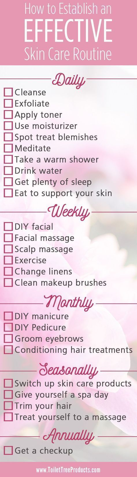 Healthy habits and a comprehensive skin care routine will help you see the skin ...
