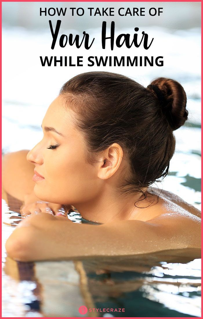 How To Take Care Of Your Hair While Swimming #haircarediy