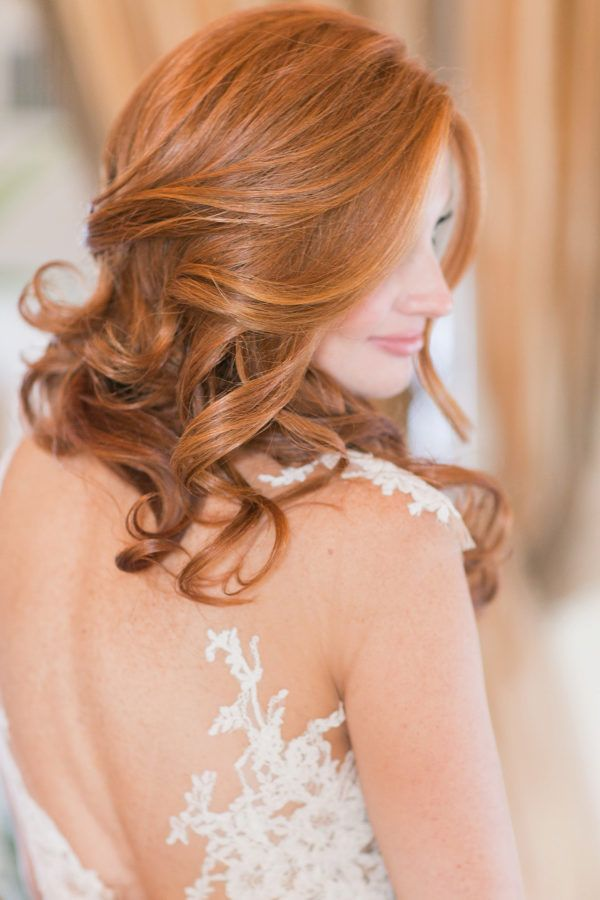 Featured Photographer: Amy Rizzuto Photography; Wedding hairstyles ideas.