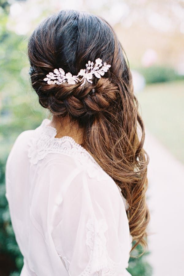 Featured Photographer: Carmen Santorelli; Wedding hairstyles ideas.