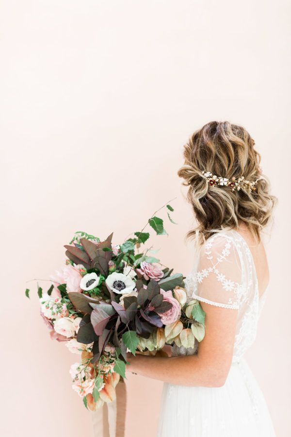 Featured Photographer: Cavin Elizabeth Photography; Wedding hairstyles ideas.