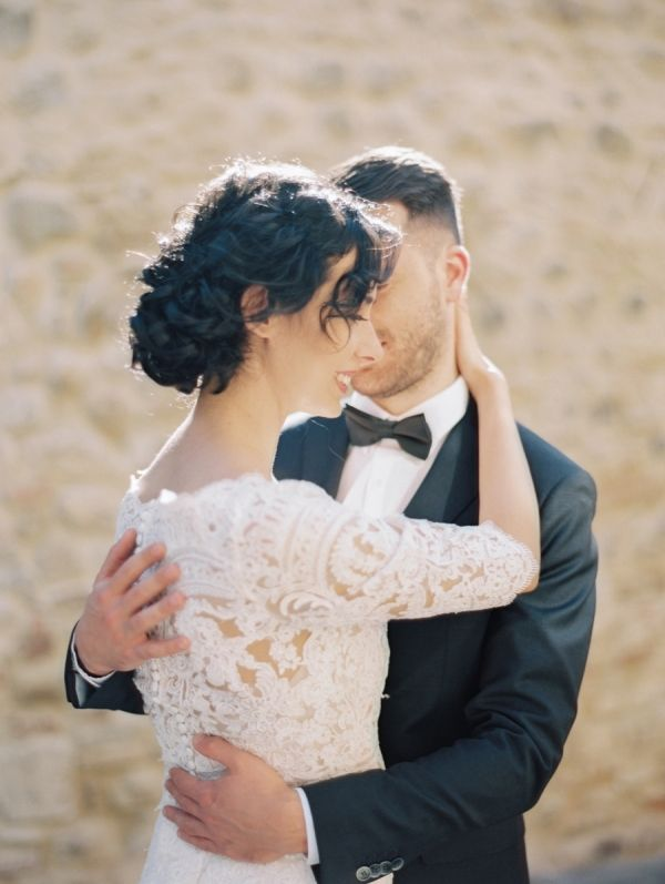 Featured Photographer: Coco Tran Photography; Wedding hairstyles ideas.