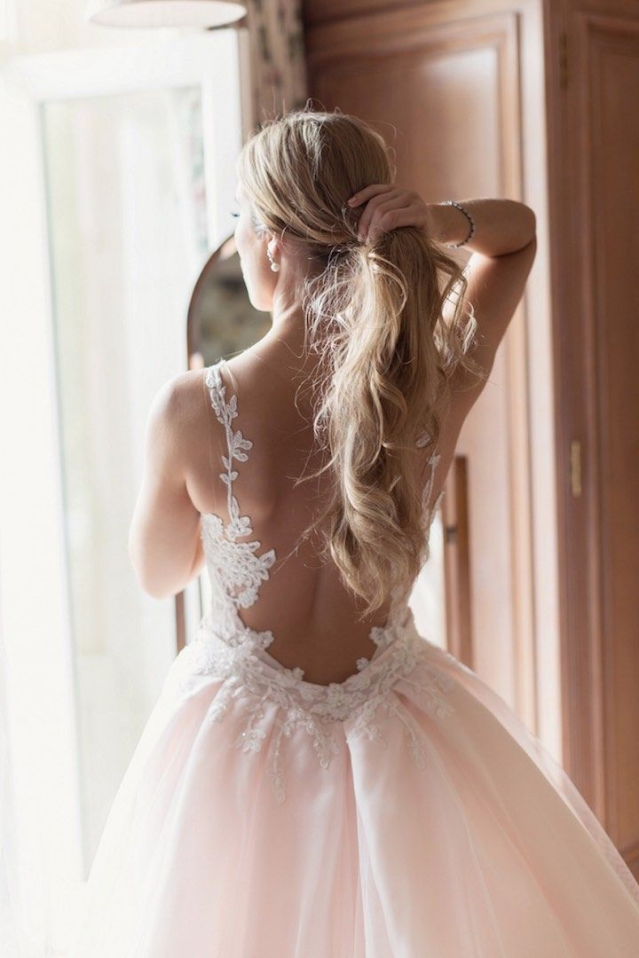 Featured Photographer: Craig and Eva Sanders Photography; Wedding hairstyles ide...