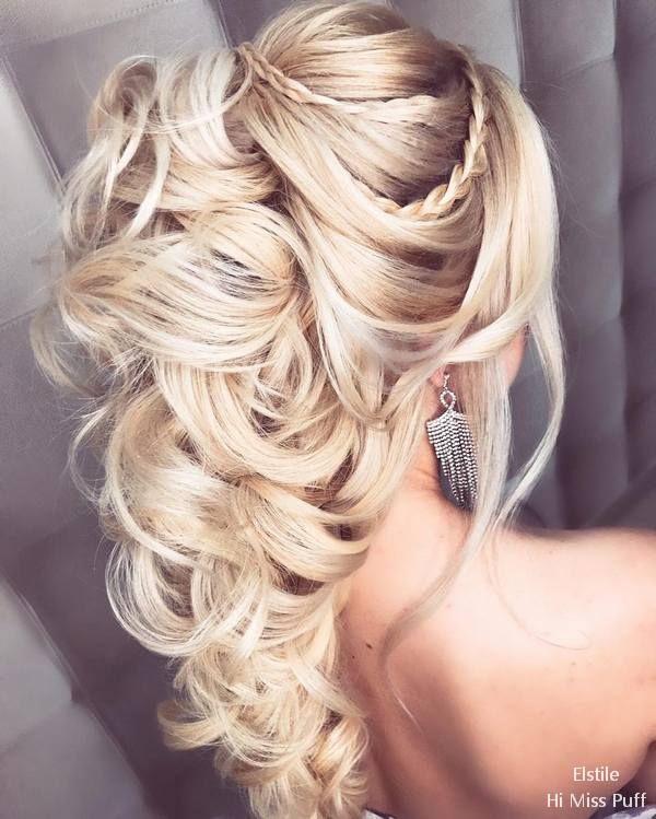 Elstile Long Wedding Hairstyles  #wedding #weddinghairstyles #weddingideas #wedd...