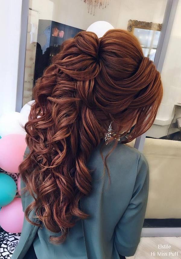 Elstile Long Wedding Hairstyles #wedding #weddinghairstyles #weddingideas #weddi...
