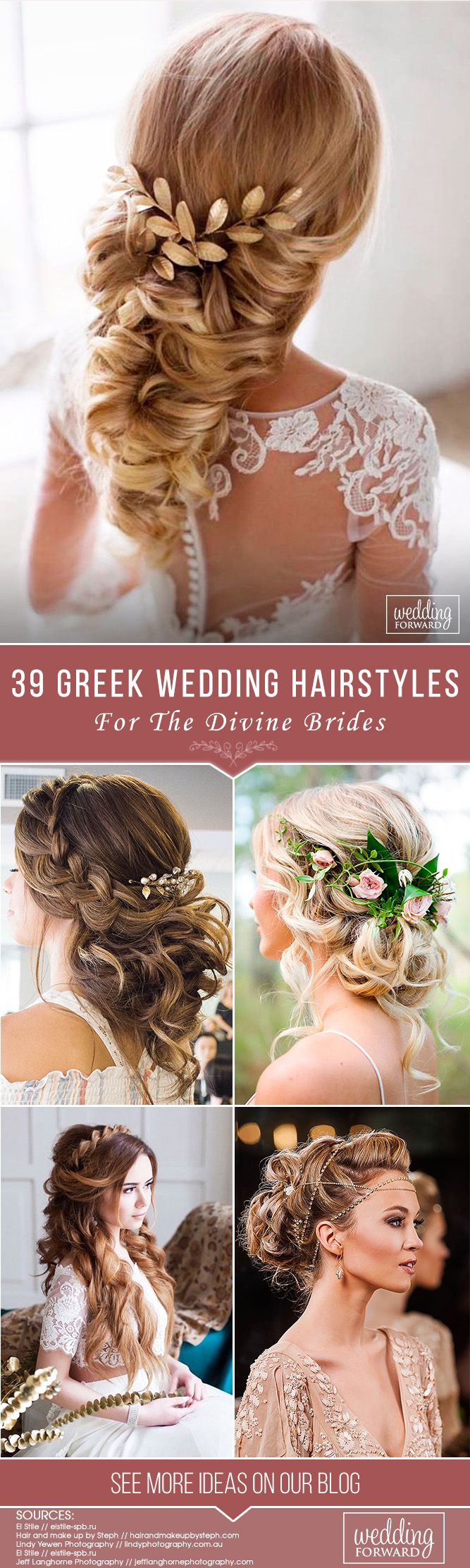 39 Greek Wedding Hairstyles For The Divine Brides ❤ Greek wedding hairstyles a...