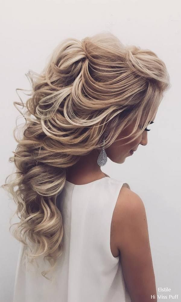 Elstile Long Wedding Hairstyles  #wedding #weddinghairstyles #weddingideas #wedd...