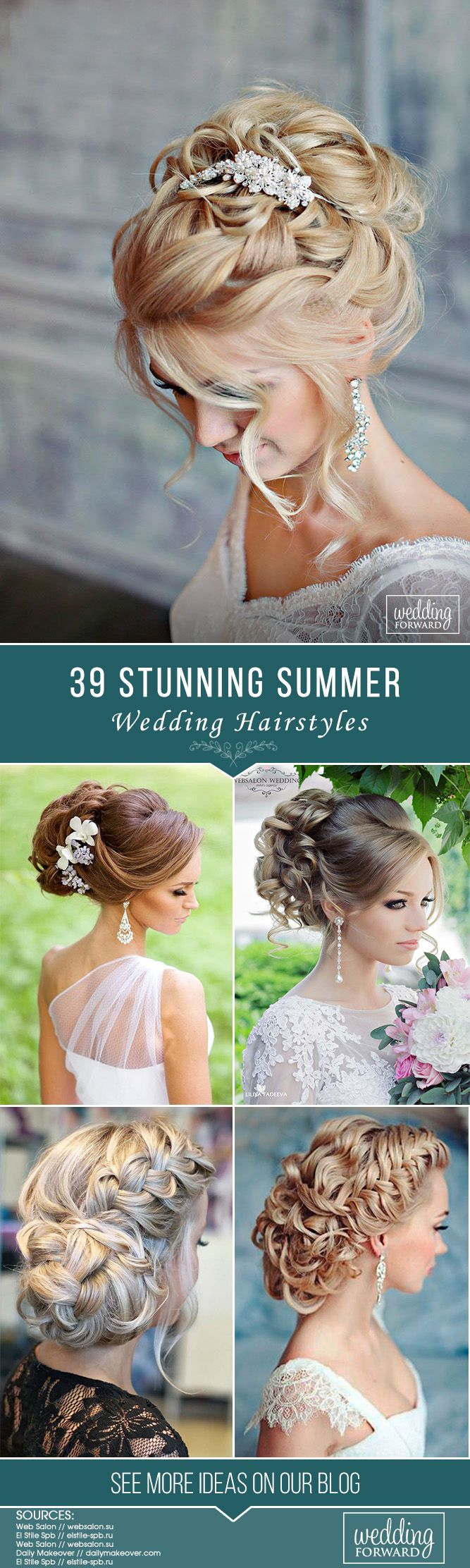 39 Stunning Summer Wedding Hairstyles ❤ Summer wedding hairstyles are differen...