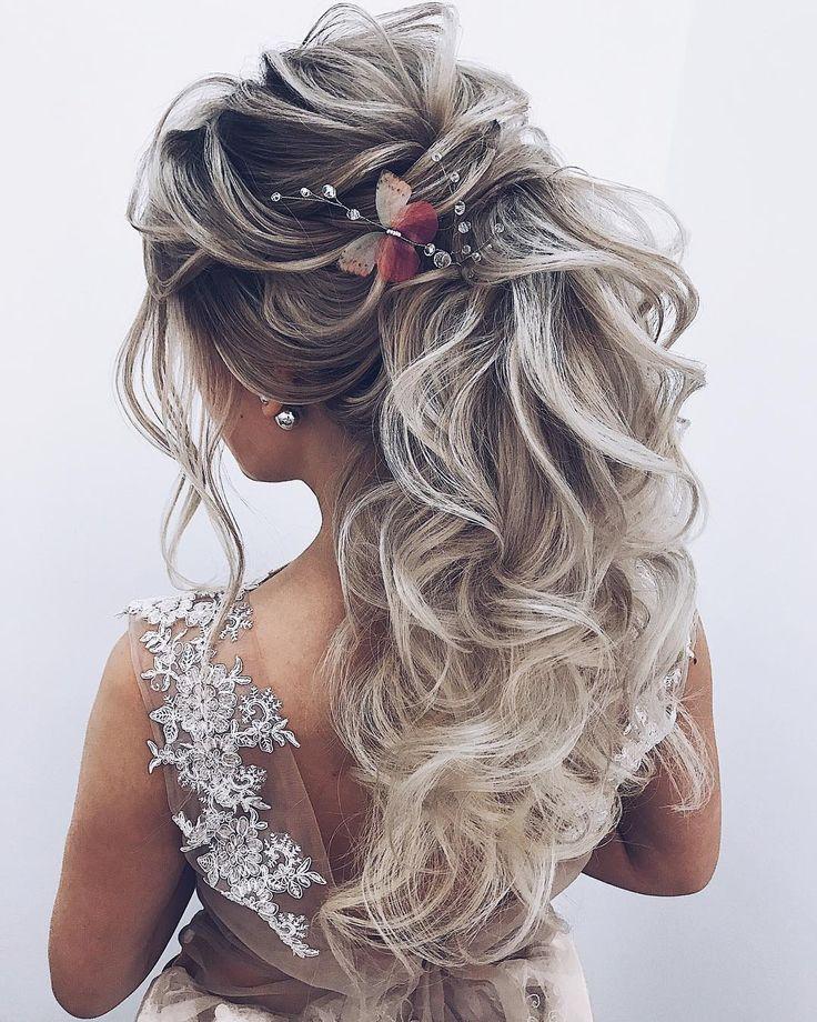 Long wedding hairstyles and updos from @ellen_orlovskay #weddings #hairstyles #h...