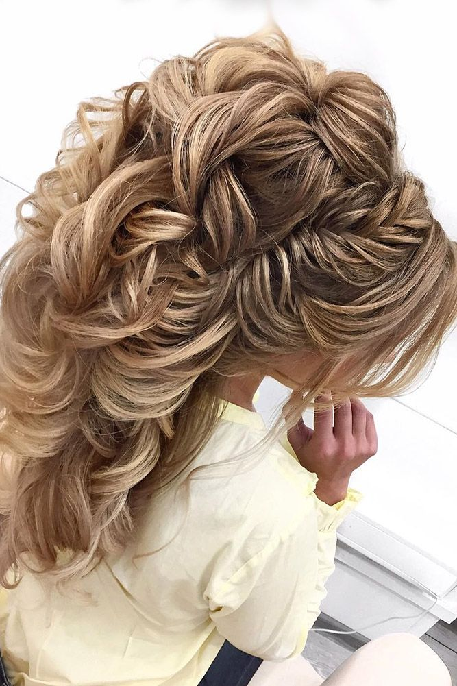 30 Best Elstile Wedding Hairstyles ❤ elstile wedding hairstyles half up half d...