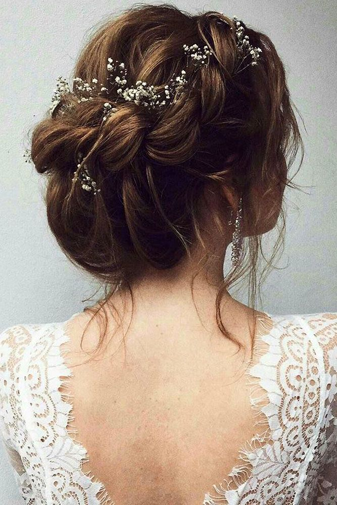30 Romantic Rustic Wedding Hairstyles ❤ rustic wedding hairstyles bridal volum...