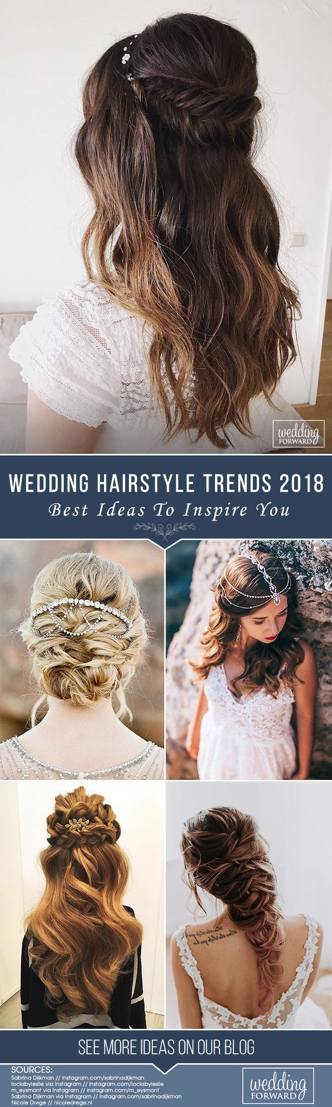 Bridal Hairstyles Best Wedding Hairstyle Trends 2018 It Is