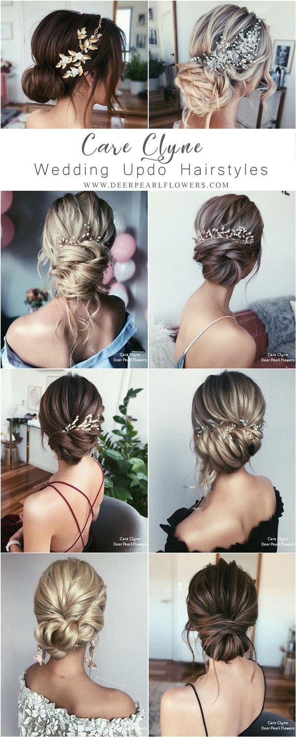 Long Wedding Hairstyles and updos from Cara Clyne #weddings #hairstyles #hair #w...