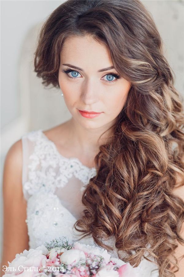 Bridal Hairstyles One Side Down Wedding Hairstyle For Long Hair