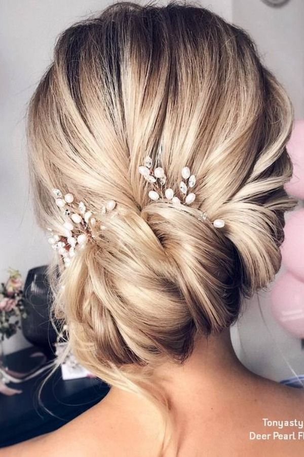 Tonyastylist Wedding Updos for Long Hair  #weddings #hairstyles #weddingideas #w...