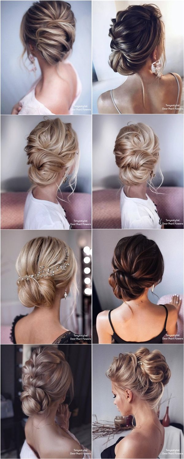 Tonyastylist Wedding Updos for Long Hair #weddings #hairstyles #weddingideas #we...