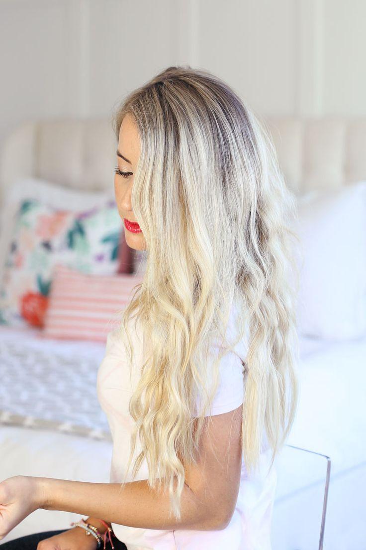 Air Dried Waves + 7 Hat Hairstyles