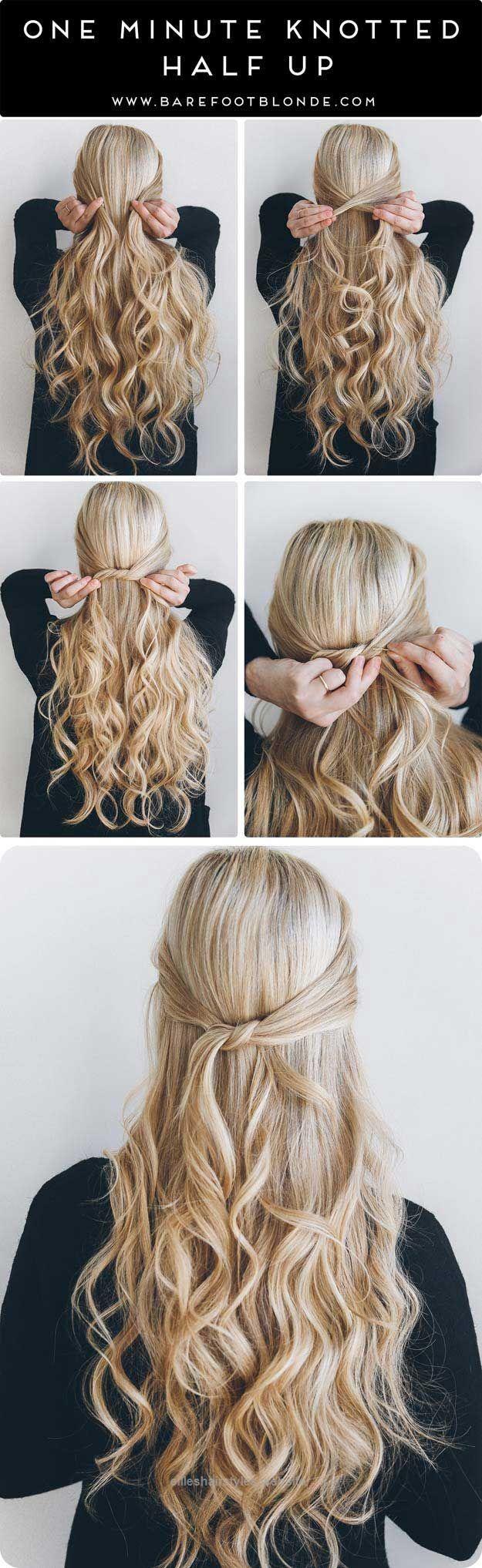 Hair Tutorials Fantastic Amazing Half Up Half Down Hairstyles For